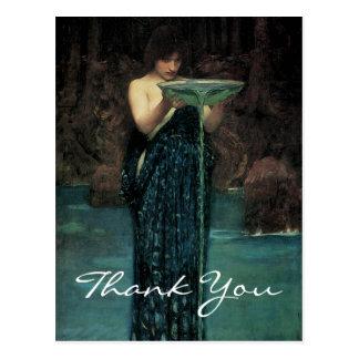 Waterhouse's Circe Invidiosa Postcard