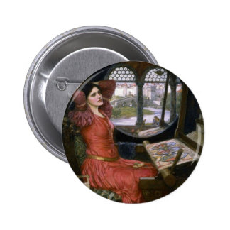 Waterhouse's Lady of Shalott Buttons