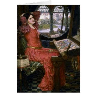 Waterhouse's Lady of Shalott Greeting Cards