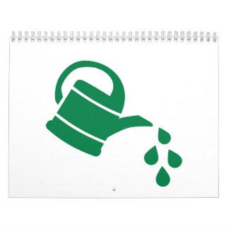 Watering can calendar