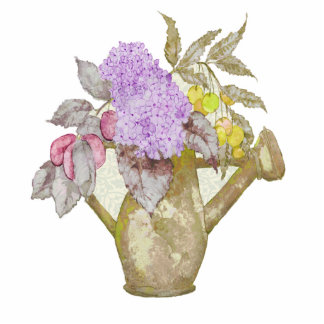 Watering Can Flowers Magnet Photo Cutouts