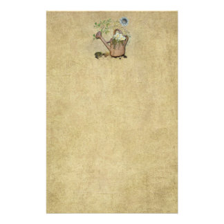 Watering Can & Garden Things 2-  Stationery- No Li Stationery
