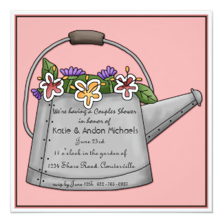 Watering Can Invitation