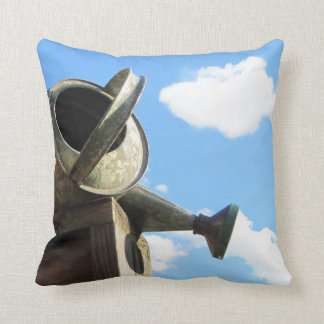 Watering Can Nearing Sunset Pillow