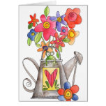 Watering Can - Note Card