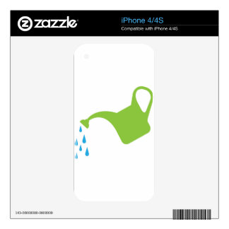 Watering Can vector Skins For The iPhone 4