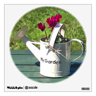 WATERING CAN WALL STICKER