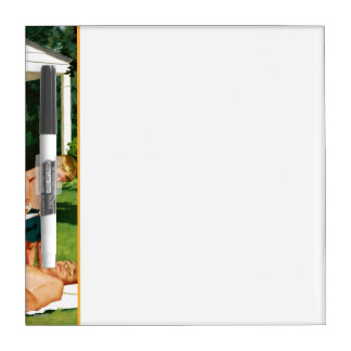 Watering Father Dry-Erase Board