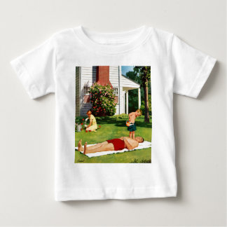 Watering Father Infant T-shirt