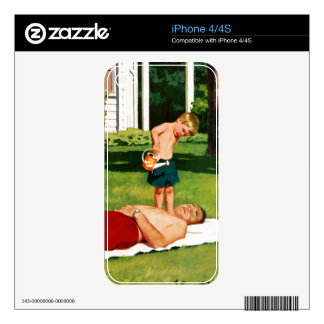 Watering Father iPhone 4S Skin
