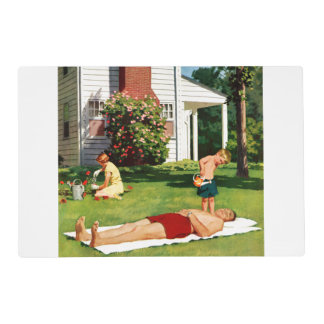 Watering Father Placemat