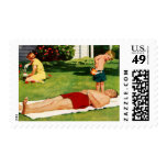 Watering Father Postage