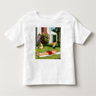 Watering Father T Shirt