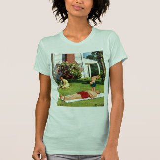 Watering Father Tee Shirt