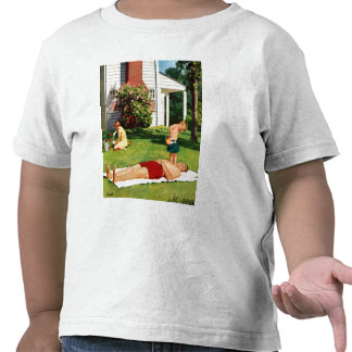 Watering Father Tshirt
