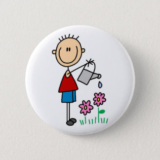 Watering Flowers Button