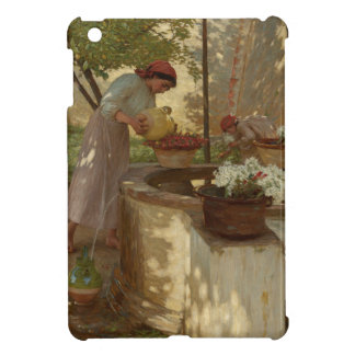 Watering Flowers from Well iPad Mini Cases