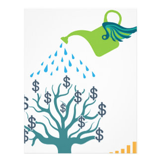Watering Money Tree Letterhead