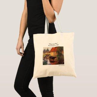 """""""Watering Place"""" Paul Gauguin ~Foodie Tote"""