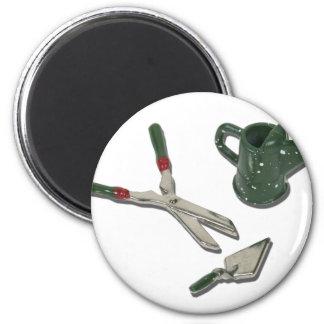 WateringCanTrimmerShovel112611 2 Inch Round Magnet