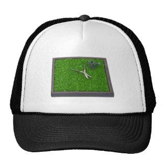 WateringCanTrimmersOnGrass112611 Trucker Hat