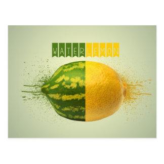 Waterlemon Food Art Postcard