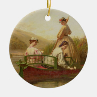 Waterlilies, 1864 (oil on canvas) christmas ornaments