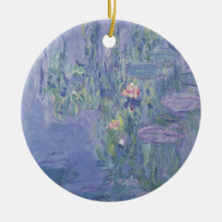 Waterlilies, 1907 (oil on canvas) ornaments