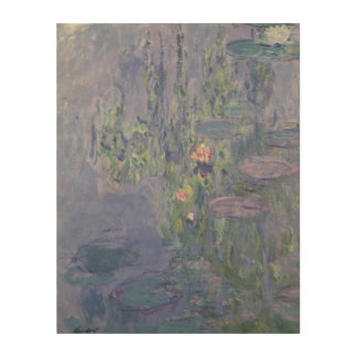 Waterlilies, 1907 (oil on canvas) wood canvas