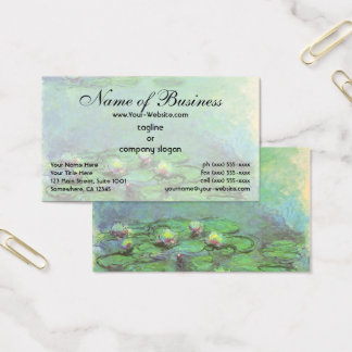 Waterlilies (1914) by Claude Monet Business Card