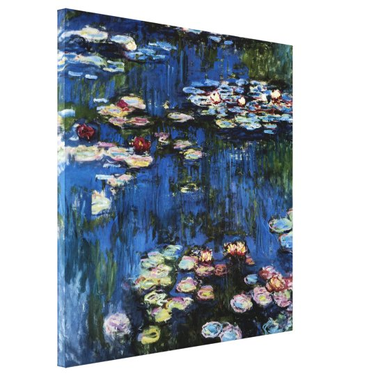 Waterlilies; 1914 by Monet Canvas Print