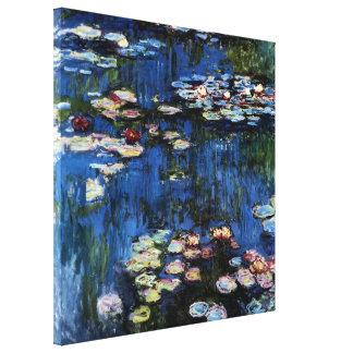 Waterlilies; 1914 de Monet Impresiones En Lona