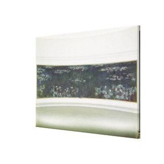 Waterlilies, 1915-26 impresión en lienzo estirada
