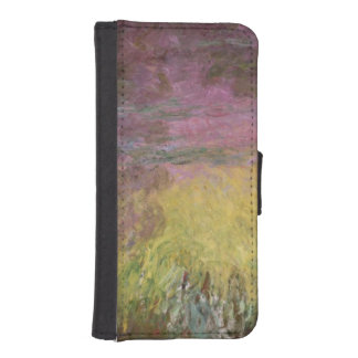 Waterlilies at Sunset, 1915-26 iPhone SE/5/5s Wallet Case
