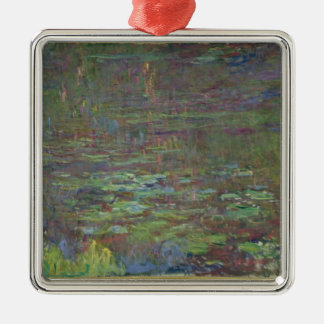 Waterlilies at Sunset Christmas Tree Ornament