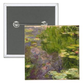 Waterlilies Button