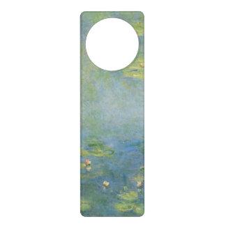 Waterlilies by Claude Monet Door Hangers