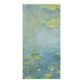 Waterlilies by Claude Monet Customized Photo Card