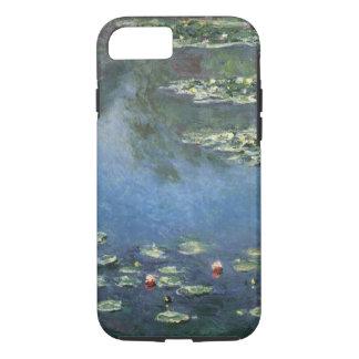 Waterlilies by Claude Monet, Vintage Flowers iPhone 8/7 Case
