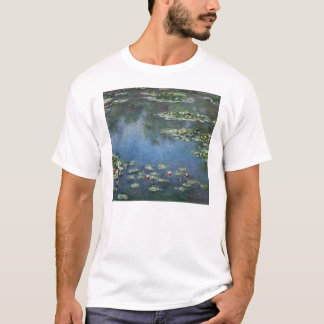 Waterlilies by Claude Monet, Vintage Flowers T-Shirt