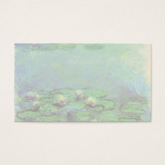 Waterlilies by Claude Monet, Vintage Impressionism Business Card