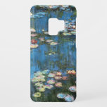 """Waterlilies by Claude Monet, Vintage Impressionism Case-Mate Samsung Galaxy S9 Case<br><div class=""""desc"""">Waterlilies (1914) by Claude Monet is a vintage impressionist fine art nature painting. One of many variations of water lily floral paintings that Monet painted by the pond in his flower garden in Giverny, France. About the artist: Claude Monet (1840-1926) was a founder of the French impressionist painting movement with...</div>"""