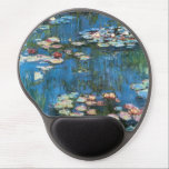 "Waterlilies by Claude Monet, Vintage Impressionism Gel Mouse Pad<br><div class=""desc"">Waterlilies (1914) by Claude Monet is a vintage impressionist fine art nature painting. One of many variations of water lily floral paintings that Monet painted by the pond in his flower garden in Giverny, France. About the artist: Claude Monet (1840-1926) was a founder of the French impressionist painting movement with...</div>"