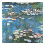 Waterlilies by Claude Monet, Vintage Impressionism Personalized Announcement