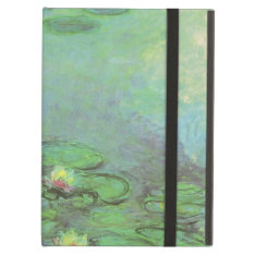 Waterlilies By Claude Monet, Vintage Impressionism Ipad Air Cases at Zazzle