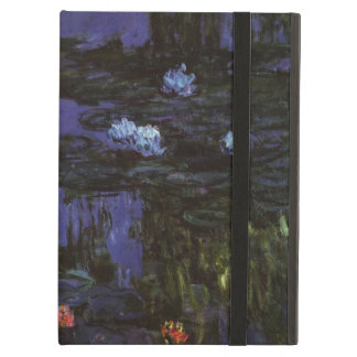 Waterlilies by Claude Monet, Vintage Impressionism iPad Air Cases