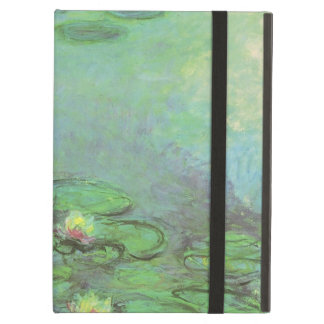 Waterlilies by Claude Monet, Vintage Impressionism iPad Air Cover