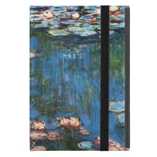 Waterlilies by Claude Monet, Vintage Impressionism iPad Mini Cover