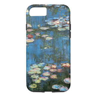 Waterlilies by Claude Monet, Vintage Impressionism iPhone 7 Case
