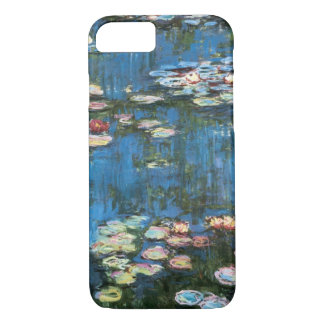 Waterlilies by Claude Monet, Vintage Impressionism iPhone 8/7 Case